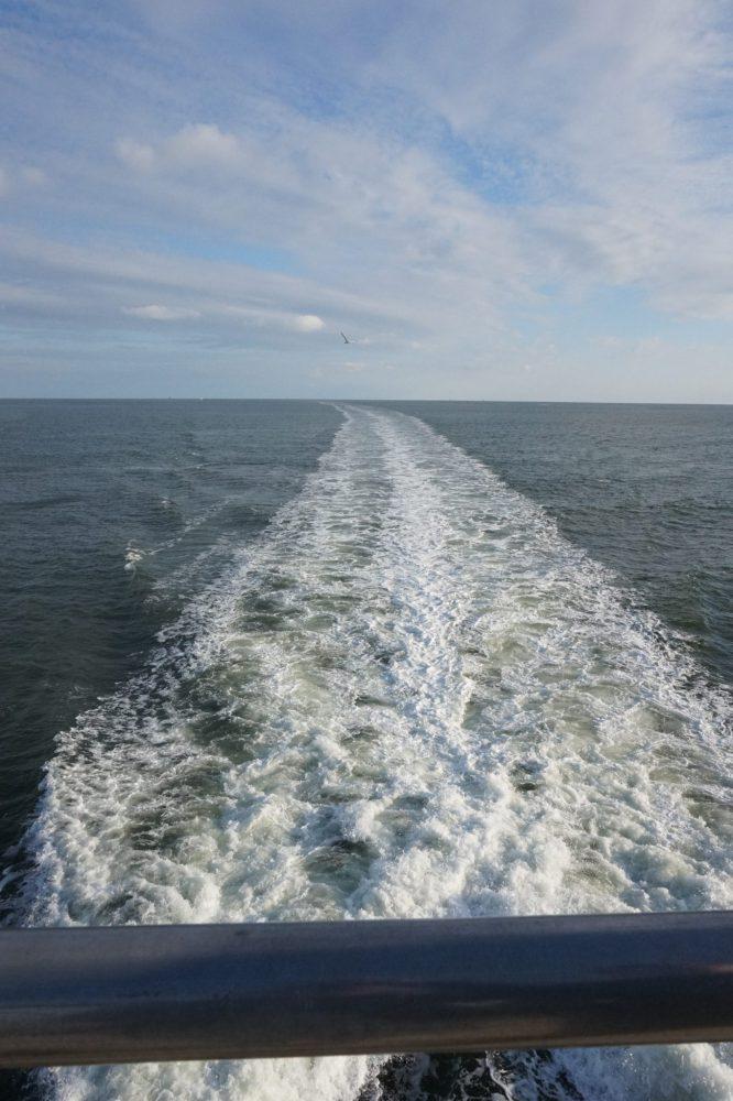 Op zee naar Vlieland