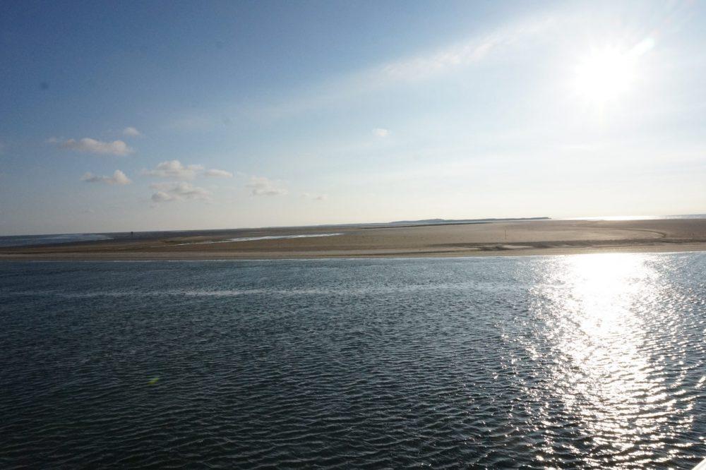 Het uitzicht vanaf de boot