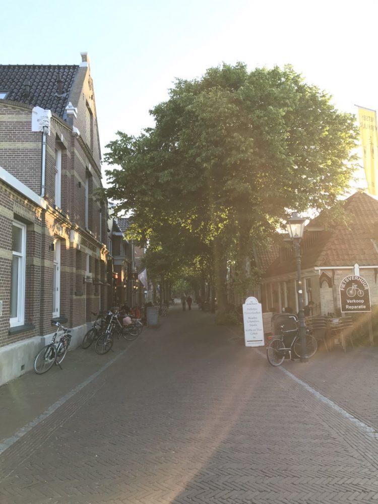 Dorpsstraat op Vlieland