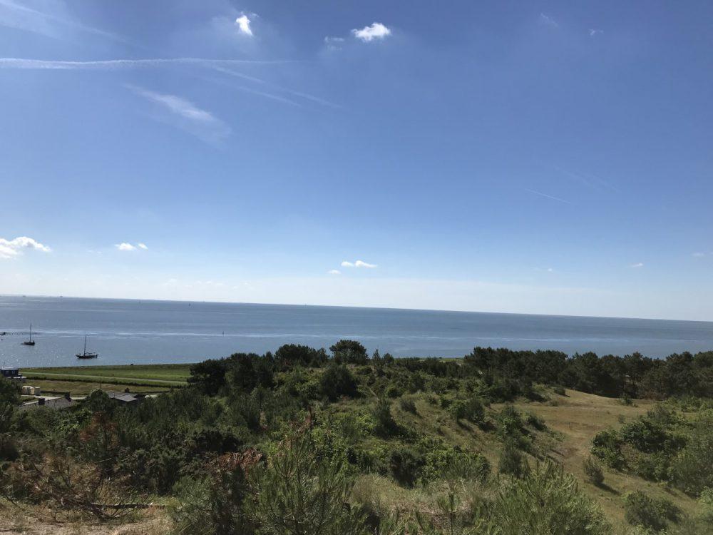 Uitzicht vanaf vuurtoren